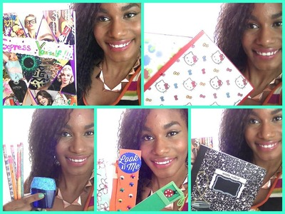 DIY Cute & Easy School Supplies: Chalkboard & Tumblr Inspired Notebooks,Folders, Pencils & More! ♡