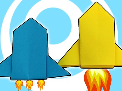 DIY: Easy Paper Origami Rocket Ship Tutorial