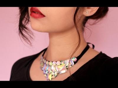 DIY: Elegant statement necklace