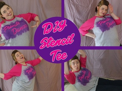 DIY Fat Amy's 'Private Dancer' Tee from Pitch Perfect 2