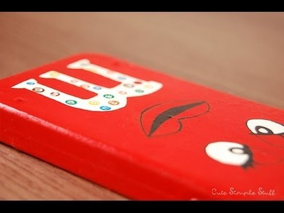 DIY M&M Phone case  | Valentine´s Day Gift Idea