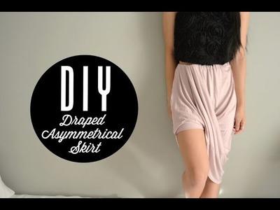 DIY Maxi Skirt into Asymmetrical Skirt | Injoyy
