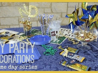 DIY Party Decorations | Game Day Series