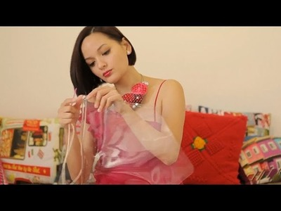 DIY PVC Clutch with Simone Heng