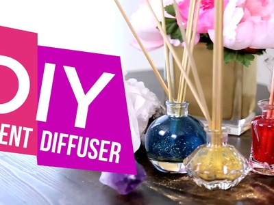DIY: Scented Oil Diffuser ∞ Trash to Fab w. AnneorShine