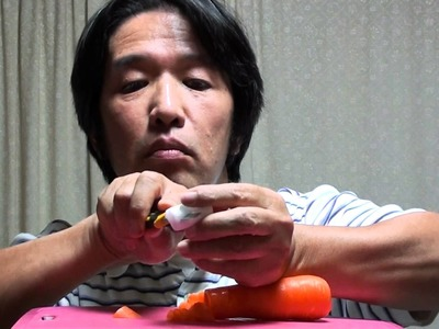 Easy way to make a carrot ocarina