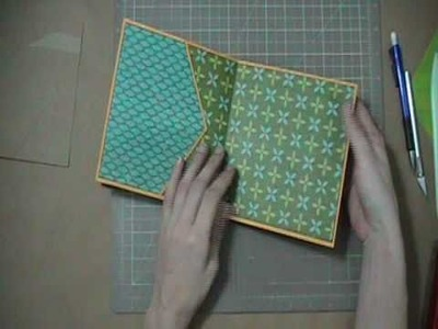 Envelope Mini Album Tutorial (Part 2) Adding the Paper