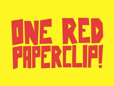 Everything is Simple - One Red Paperclip