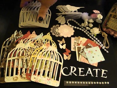 Flea Market Bird Cage Calendar, Mini Album and Banner Kit ***SOLD***
