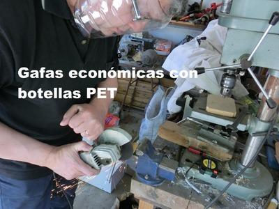 Gafas económicas para el taller y laboratorio. Safety glasses for workshop and laboratory