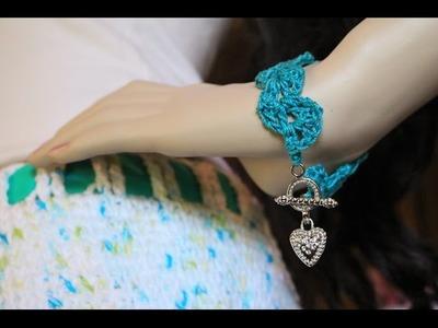 Glama's Lacey Shell Bracelet