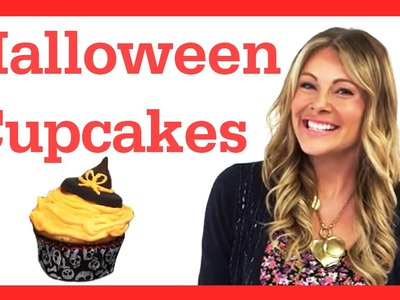 Halloween Cupcake DIY Ideas! #17daily