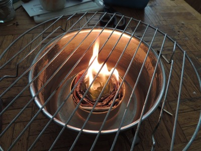 Hobo Candle. Stove!  Buddy Burner!