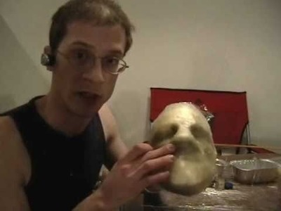 How to Make a Mask: Pt 3 Fiberglassing