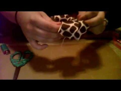 How To Make A Stacked Boutique Bow Part 1