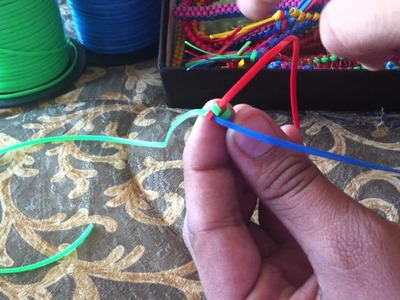 How to make a Triangle Stitch Lanyard