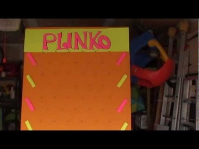 How to Make Giant Plinko & Connect Four Games