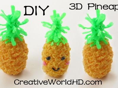 How to Make Kawaii Pineapple -  3D Printing  Pen Creations.Scribbler dIY Tutorial