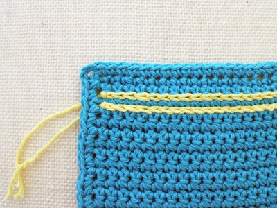 How To Surface Crochet Left Hand