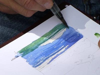 John Muir Laws on Watercolor Basics (6 of 9)