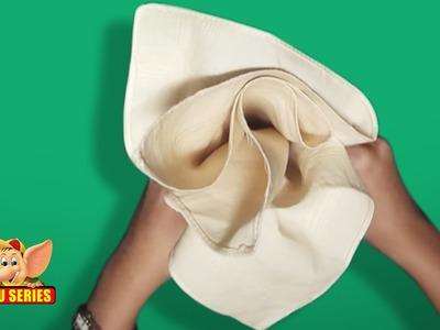 Learn the Basic Napkin Fold