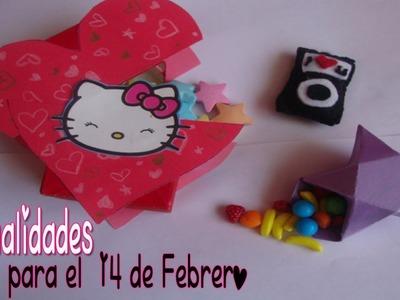 Manualidades para el 14 de Febrero ♥
