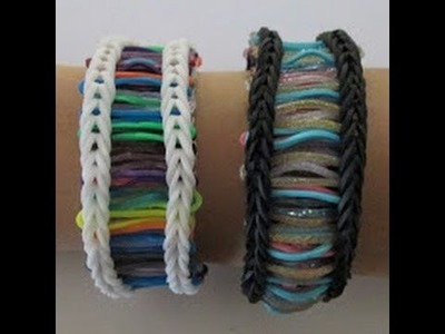 Monster Tail- How to make a Barcode Bracelet (Original Design)