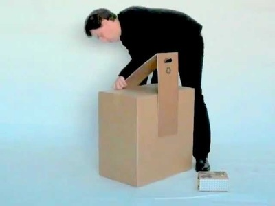 Move-it Cardboard Wheels and Handle