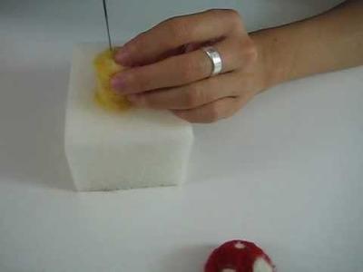 Mushroom Felt Kit (Part 2 of 2) Needlefelting Tutorial (VIDEO)