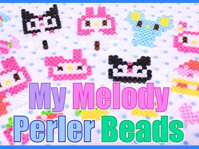 My Melody Perler Bead Kit
