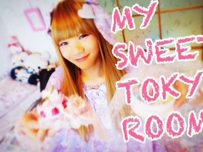 MY SWEET TOKYO BEDROOM with Akira | Kawaii Japanese Fashion Room