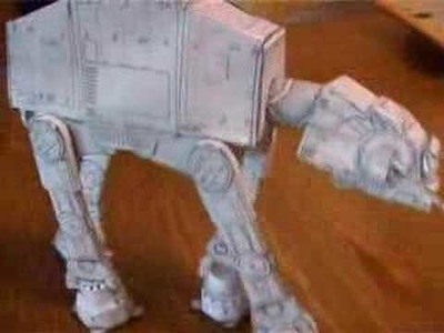 Papercraft AT-AT from Star Wars