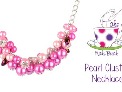 Pearl Cluster Necklace | Take a Make Break with Sarah Millsop ❤️‍