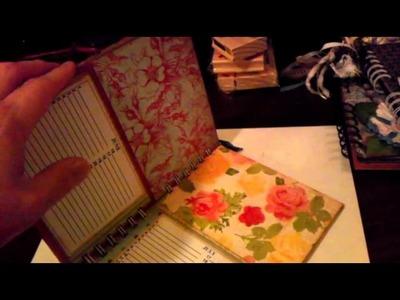 Project Share - Perpetual Calendar card organizer books