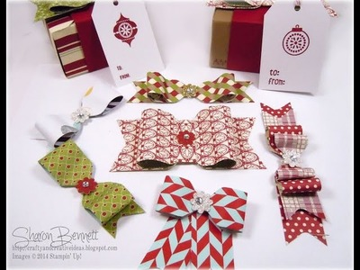 Stampin Up Punch Board Bows (Part 1)