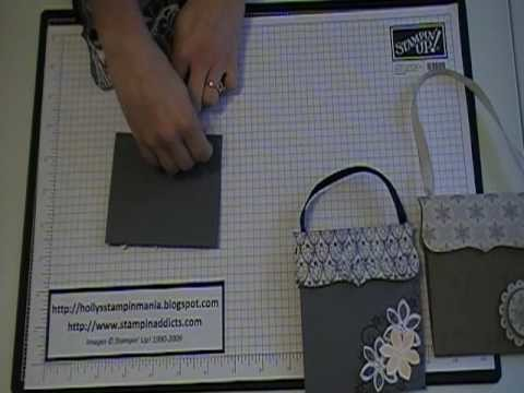 Stampin' Up! Tutorial~Top Note Handbag