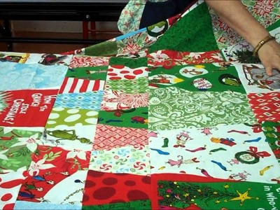 The Grinch Tumbler Quilt