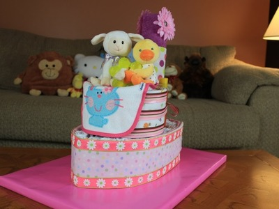 Tug Boat Diaper Cake (How To Make)