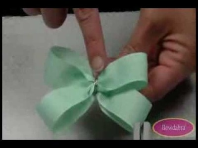 "Video Tutorial 4"" Wide Boutique Bowdabra Hair Bow"