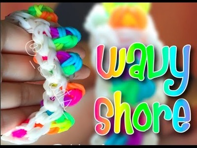Wavy Shore Bracelet | Rainbow Loom Tutorial