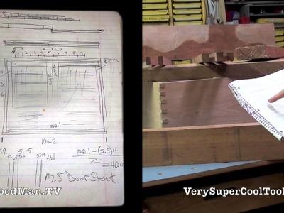 13 Platform Bed Storage Drawer • Sliding Lids Layout