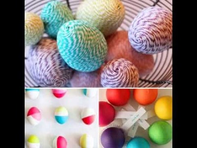 Craft easter ideas