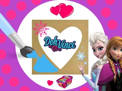 Disney Frozen Frame DIY Craft DohVinci Playdoh MLP Shopkins Lps Blind Bags Frozen Elsa Stickers