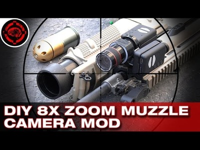 DIY Build an 8X Zoom Muzzle Camera + Shooting, Mobius Action Cams