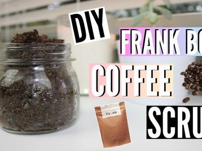 DIY Frank Body Coffee Scrub!