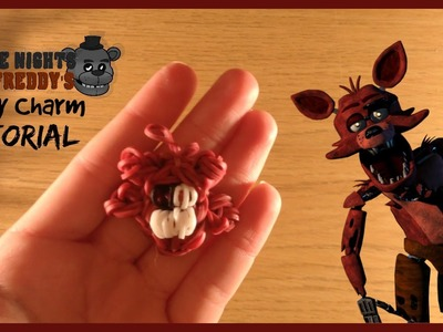Five Nights at Freddy's Foxy Charm Tutorial! | Rainbow Loom