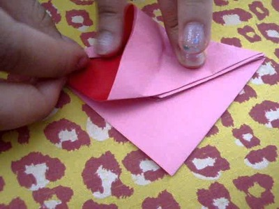 How to Fold a Paper Flower- Part 1
