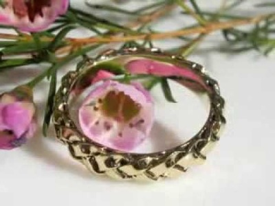 How to make a braided wedding ring- wax to gold