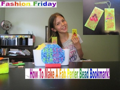 How To Make A Fab Perler Bead Bookmark ♫ Fashion Friday