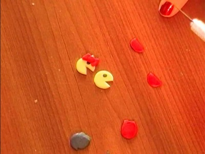 How to: polymer clay Mr. & Mrs. Pac-Man